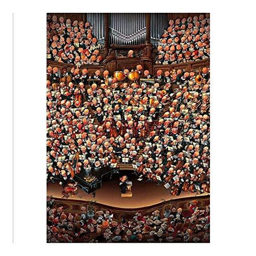 Puzzle Colección Europea Comics - Orquesta