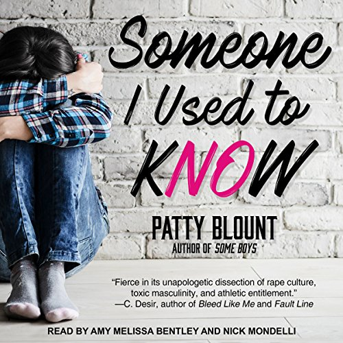 Someone I Used to Know                   By:                                                                                                                                 Patty Blount                               Narrated by:                                                                                                                                 Amy Melissa Bentley,                                                                                        Nick Mondelli                      Length: 10 hrs and 3 mins     3 ratings     Overall 5.0