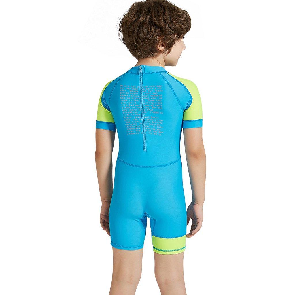 Overall Schwimmen Anzug Kinder Badebekleidung Jungen M/ädchen UV Schutz Badeanzug Sunsuit Sonnenschutz Badeanzug Surfen Neoprenanzug UPF 50