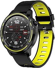 Mannen ECG PPG Smart Horloge IP68 Waterdichte Bluetooth Muziek Hartslag Fitness Tracker Sport Smartwatch