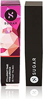 SUGAR Cosmetics It's A-Pout Time! Vivid Lipstick 05 That '70s Red (Red), 3.5 g