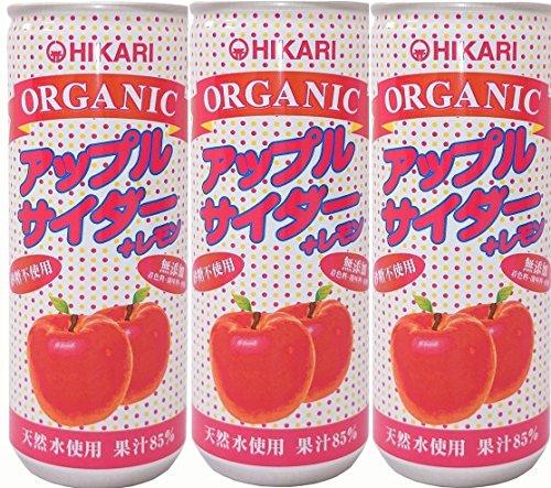 光食品 ヒカリ オーガニック アップルサイダー+レモン 250ml