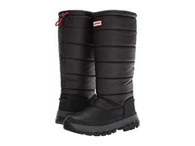 Hunter Original Insulated Snow Boot Tall (Black) Women