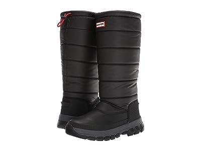 Hunter Original Insulated Snow Boot Tall (Black) Women