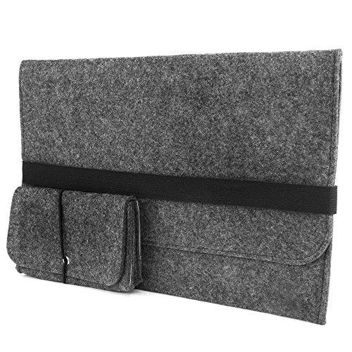 lana naturalis Laptop-Tasche Filz Hülle für alle Ultrabook MacBook/Pro Retina ipad pro bis 13 Zoll