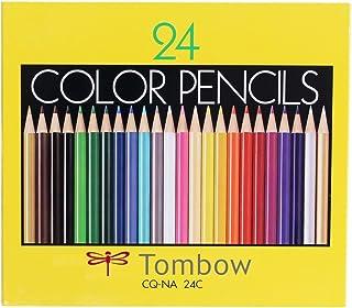 トンボ鉛筆 色鉛筆 NA 24色 紙箱入 CQ-NA24C