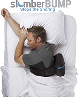 slumberBUMP Positional Sleep Belt for Snoring and Sleep-Disordered Breathing, Black/Gray (One Size Fits Most)