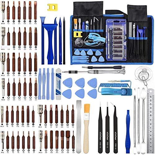 oGoDeal Pro Tech Feinmechaniker Schraubendreher Set Präzisionsschraubendreher Werkzeug Set öffnungswerkzeug für Handys, PC, Laptop,Computer, iPhone,PS4,Tablet, Uhren,MacBook,Kamera,Xbox Reparatur