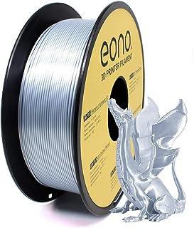Amazon Brand-Eono Filament PLA pour imprimante 3D,couleur effet soie, idéal pour impression d'éléments décoratifs à finiti...