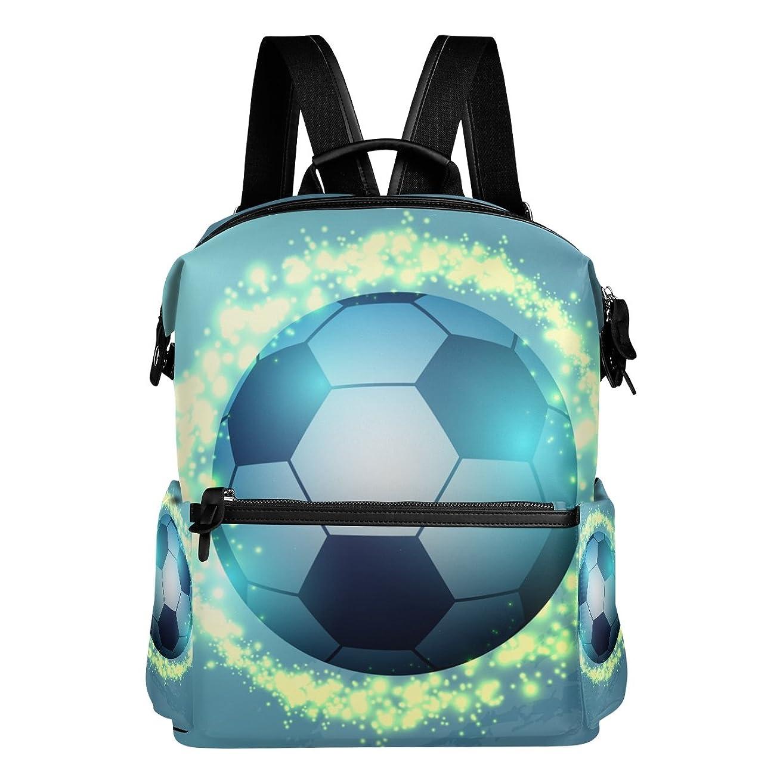 犠牲寄付パックAyuStyle リュック リュックサック soccer サッカー ボール football 個性的なデザイン おしゃれ かっこいい メンズ レディース 男女兼用 大容量 高校生 大学生 通学 アクセント バックパック