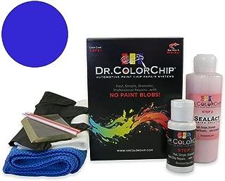 Dr. ColorChip Mercedes-Benz S-Class Automobile Paint - Cavansite Blue Metallic/Lunar Blue Metallic 890/5890 - Squirt-n-Squeegee Kit