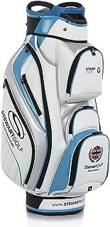 Stewart Golf StaffPro Cart Bag - White/Red