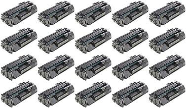 RudyTwos - Cartucho de tóner para Impresora HP 80A Compatible con Laserjet Pro 400 M401A, M401D, M401DN, M401DNE, M401DW, M401N, MFP M425DN, MFP M425DW (20 Unidades)