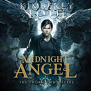 Midnight Angel audiobook cover art