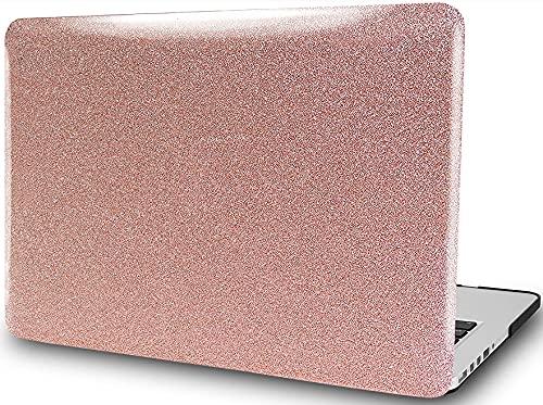 Carcasa rígida de plástico para MacBook Air de 13,3 pulgadas, color dorado rosa