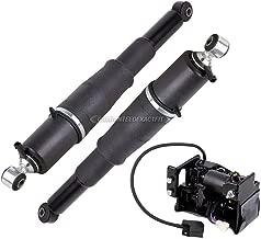 Rear Air Shock Set w/Compressor For Chevy Tahoe Suburban Avalanche GMC Yukon Cadillac Escalade Z55 Autoride 2000-2014 - BuyAutoParts 75-854853A New