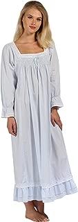 Martha Nightgown 100% Cotton Victorian Style - Sizes XS - 3X