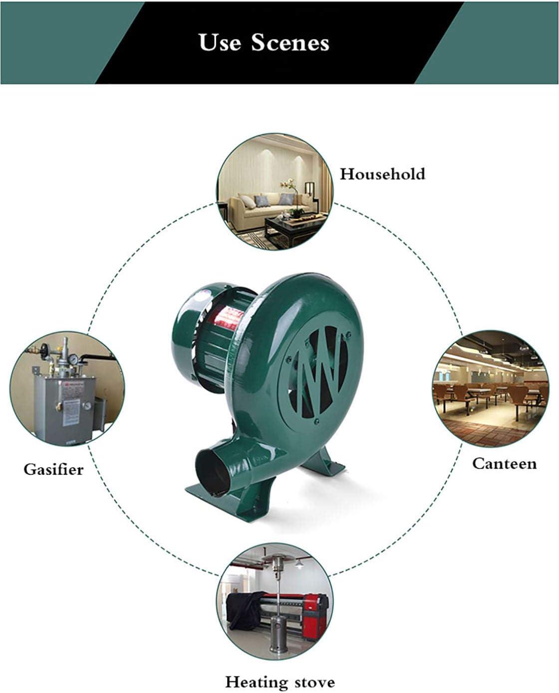 DGDG Ventilateur électrique de Forge de Forgeron, Ventilateur centrifuge de barbecues pour Le Camping/Pique-Nique/activités en Plein air, Grand Cadeau d'accessoires de Gril 80w