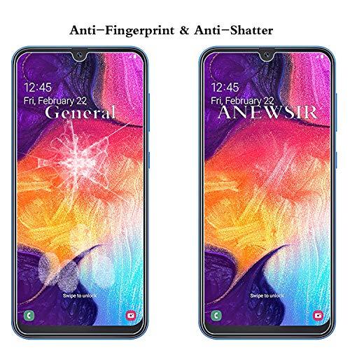 ANEWSIR Panzerglas Schutzfolie Kompatibel mit Samsung Galaxy A50/M30s/M31/M21 Displayschutzfolie [2 Stück] mit Installationswerkzeug.