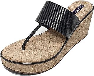 Lazera Women's Platform Heel Sandals Designers Editions