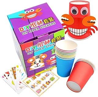 Mumoo Bear Crafts Paper Cups Art Kit Kids Crafts Art Toys, picture 1, 15 * 11cm