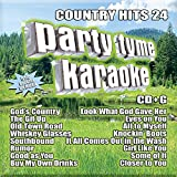 Country Hits 24 [16-song CD+G]