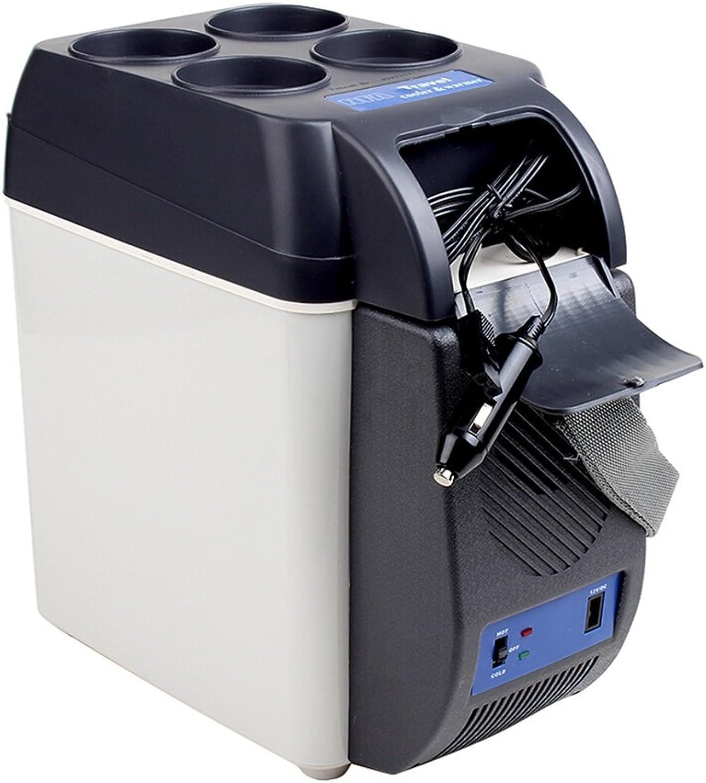 PIGE Caja de calefacción del Coche del refrigerador del Coche 7L Caja de refrigeración y calefacción Refrigerador pequeño Refrigerador pequeño