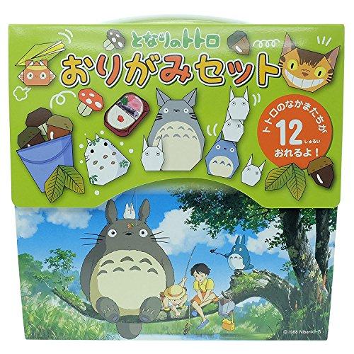 ENSKY Studio Ghibli Mi vecino Totoro Papel de origami Personaje plegable 15cm 12 patrones con manual Hecho en Japón