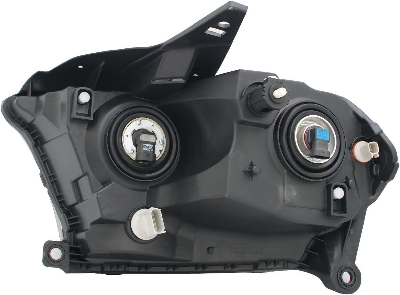 TYC 20-9203-00-9 Dodge Durango Right Replacement Head Lamp