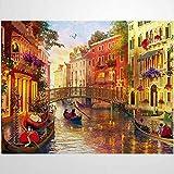 1000 Piezas Puzzle - Venecia Romance - Rompecabezas Para Niños Adultos Juego Creativo Rompecabezas Navidad Decoración Del Hogar Regalo