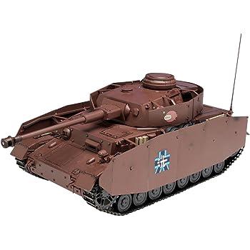 プラッツ ガールズ&パンツァー 1/35 Ⅳ号戦車D型改(H型仕様) あんこうチーム 劇場版です!
