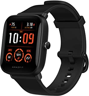 Amazfit BIP U PRO Smart watch with 1.43 inches LCD Display, Built-In GPS, 3GB Music Storage, 9-Day Battery Life, 60 Sports...