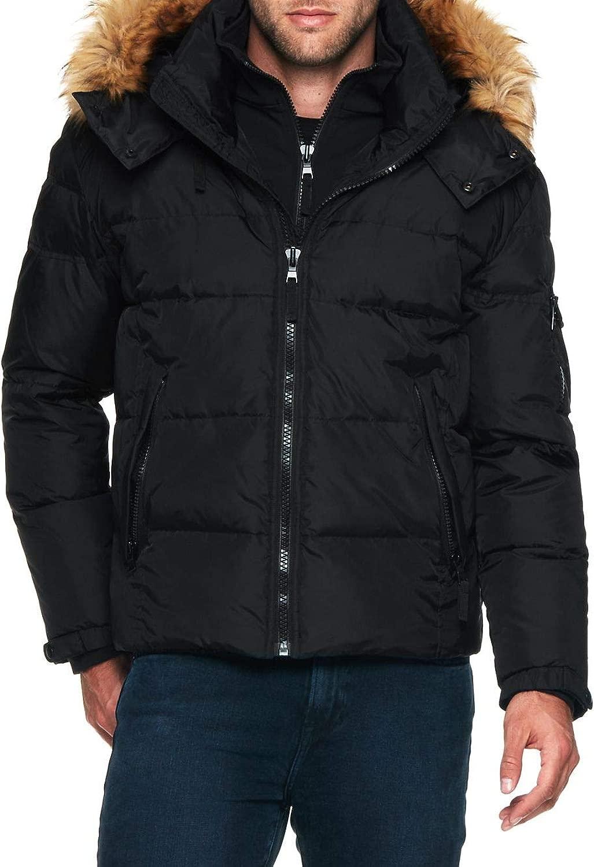 [エスサーティーン] メンズ ジャケット&ブルゾン Matte Faux Fur Downhill Jacket [並行輸入品]