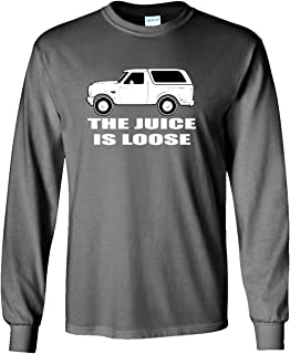 The Silo Long Sleeve Grey O.J. Simpson The Juice is Loose T-Shirt