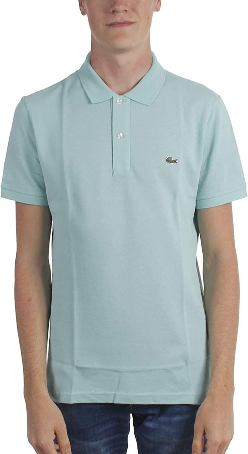 Lacoste - Mens Ph4012 Short Sleeve Slim Fit Polo Shirt, Size: