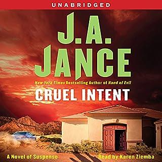 Cruel Intent audiobook cover art