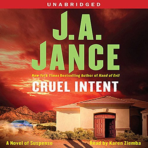Cruel Intent audiobook cover art