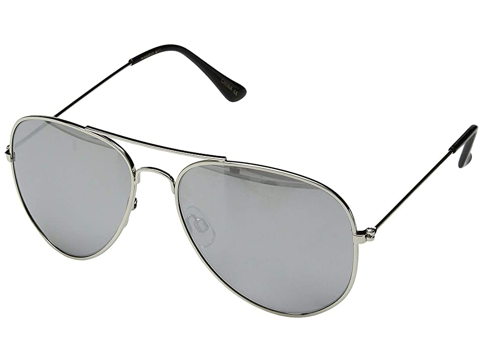 Steve Madden Madden Girl MG492124 (Silver/Slate) Fashion Sunglasses