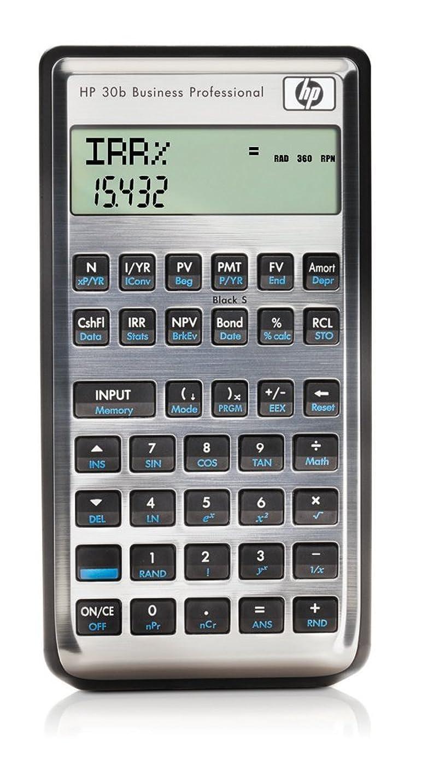 バンクロッカー知人ヒューレット?パッカード 30b 金融電卓 並行輸入品