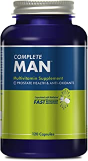 Complete Nutrition Complete Man Multivitamin, Men's Daily Multivitamin, Immune Support, Prostate Health, 120 Capsules