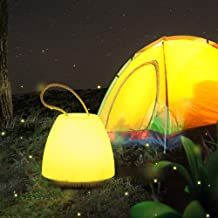 LED Camping Light, Outdoor Tent Emergency Light Backpack Camping Hiking Fishing Bicycle (Color : Yellow Light)