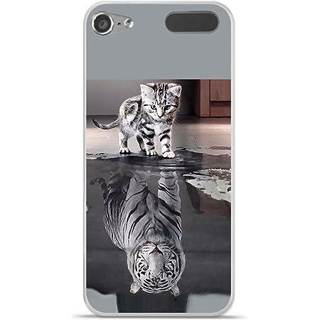 Onozo Coque TPU Gel Souple Apple Ipod Touch 5//6 Design Tigre Blanc