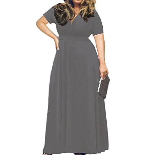 Plus Size Gray Dress: Amazon.com