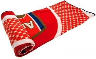 arsenal fc blanket