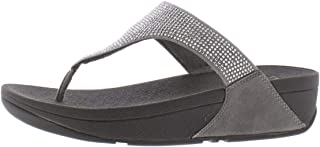 Womens Slinky Rokkit Faux Leather Toe-Post Thong Sandals