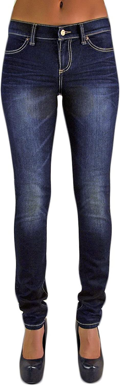 Standards & Practices Women's Stretch Denim Dark Whisker Skinny Premium Jeans