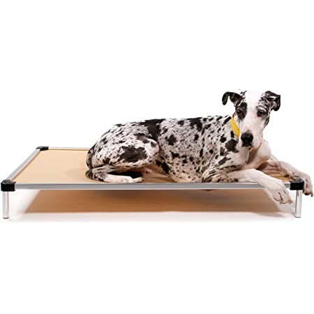 """K9 Ballistics Chew Proof Elevated Dog Bed - Chewproof - All Aluminum - Indoor/Outdoor - Ripstop Ballistic Fabric - Ships Assembled - Fits Inside Crates Giant 50"""" x 33"""" x 7"""""""