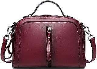 Women's Vintage Handbag New Fashion Leather Handbag Shoulder Bag Ladies Messenger Bag(FM),B