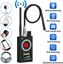 Anti Spy Detector,Vecoacopd Electronic Bug Detectors RF Signal Detector GSM Tracking Device for Wireless Audio Bug Hidden Camera Detector