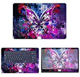 decalrus Protective Decal Butterfly Skin Sticker for Asus ZenBook Pro UX550 (15.6' Screen) case cover wrap ASzenbkPro_ux550-122